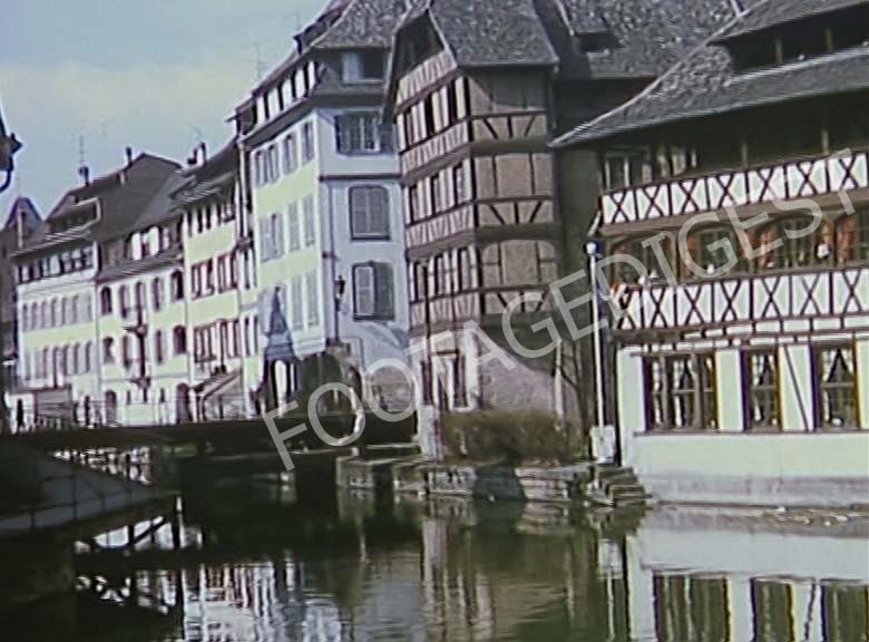 Alsace: Traditional half timbered houses